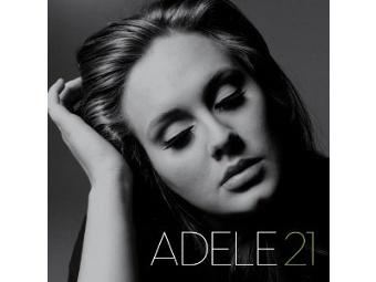 """Обложка альбома Адель """"21"""""""