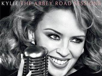 "Фрагмент обложки альбома Кайли Миноуг ""The Abbey Road Sessions"""