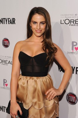 Jessica Lowndes at Vanity Fair D.J. Night